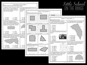 Go Math 3rd Grade: Chapter 17 - Perimeter
