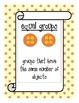 Go Math! Grade 3 Chapter 3 Vocabulary Cards