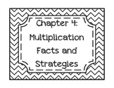 Go Math! Grade 3 Chapter 4 Vocabulary Cards