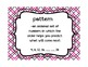 Go Math! Grade 3 Chapter 5 Vocabulary Cards