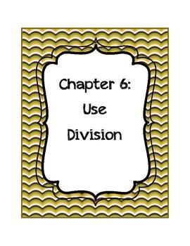Go Math! Grade 3 Chapter 6 Vocabulary Cards