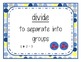 Go Math! Grade 3 Chapter 7 Vocabulary Cards