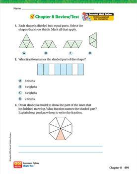 Chapter 8 Answer Key Math