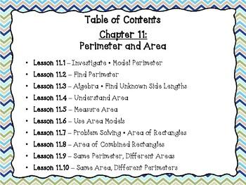 Go Math Grade 3 Exit Slips-Chapter 11
