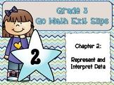 Go Math Grade 3 Exit Slips-Chapter 2