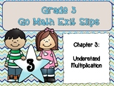 Go Math Grade 3 Exit Slips-Chapter 3