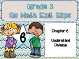 Go Math Grade 3 Exit Slips-Chapter 6