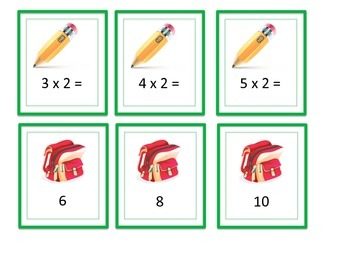 Go Math!  Grade 3 Multiply with 2 and 4 Chapter 4 Lesson 1