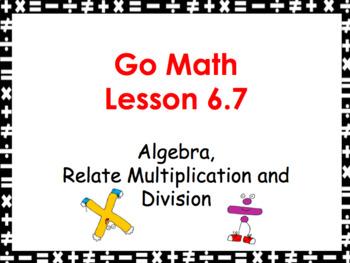 Go Math Grade 3 Slides BUNDLE