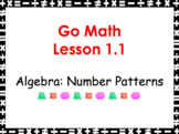 Go Math Grade 3 Slides CH 1-11 BUNDLE