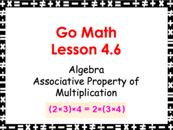 Go Math Grade 3 Slides CH 1-11 BUNDLE