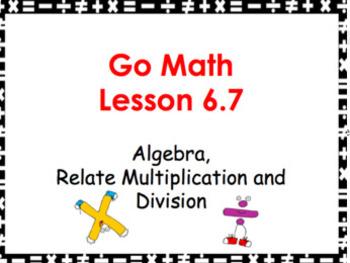Go Math Grade 3 Slides CH 1-5 BUNDLE