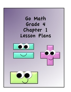 Go Math Grade 4 Chapter 1 Lessons