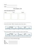 Go Math Grade 4 Chapter 1 Test Modified