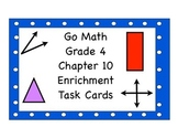 Go Math Grade 4 Chapter 10 Enrichment Task Cards