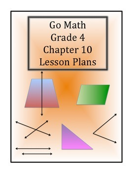 Go Math Grade 4 Chapter 10 Lessons