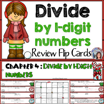 Go Math 4th Grade Divide By 1 Digit Numbers Math Center