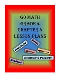 Go Math Grade 4 Chapter 4 Lessons