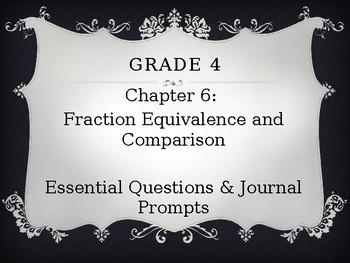 Go Math Grade 4 Chapter 6 Journal Prompts