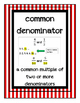 Go Math Grade 4 Chapter 6 Vocabulary Posters
