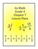 Go Math Grade 4 Chapter 7 Lessons