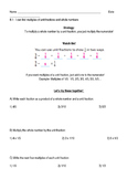 Go Math Grade 4 Chapter 8 Modified Lesson Worksheets