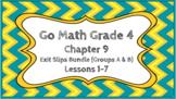 Go Math Grade 4 Chapter 9 Digital Exit Slips Bundle (Group