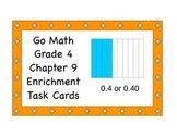 Go Math Grade 4 Chapter 9 Enrichment Task Cards