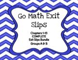 Go Math Grade 4 Chapters 1-13 COMPLETE BUNDLE Printable Ex