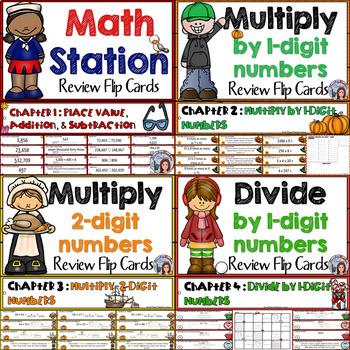 Go Math 4th Grade Math Center Bundle
