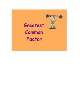 Go Math Grade 4 Lesson Plan  (Common Factors)