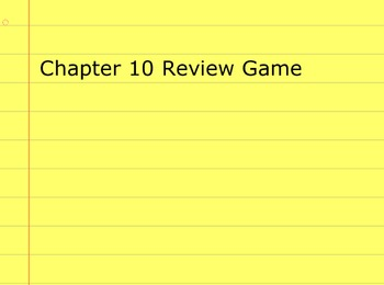 Go Math Grade 5 Chapter 10 Activinspire Review Game Activote Compatible