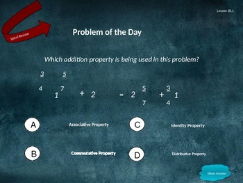 Go Math Grade 5 Chapter 10 Problem of the Day Powerpoint