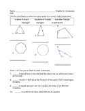 Go Math Grade 5 Chapter 11 Vocabulary Quiz