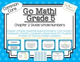 Go Math! Grade 5 Chapter 2 Essential Question, Vocabulary, I Can, Problem Day
