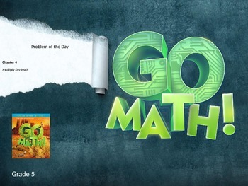 Go Math Grade 5 Chapter 4 Problem of the Day Powerpoint