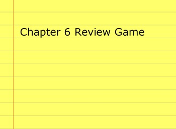 Go Math Grade 5 Chapter 6 Activinspire Review Game Activote Compatible