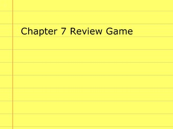 Go Math Grade 5 Chapter 7 Activinspire Review Game Activote Compatible