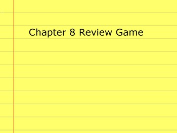 Go Math Grade 5 Chapter 8 Activinspire Review Game Activote Compatible