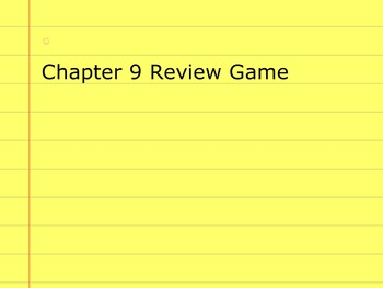 Go Math Grade 5 Chapter 9 Activinspire Review Game Activote Compatible