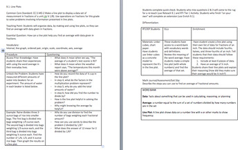Go Math Grade 5 Chapter 9: Algebra, Patterns, and Graphing Lessons