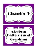 Go Math! Grade 5 Chapter 9 Vocabulary Words