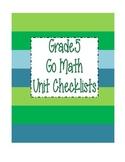Go Math Grade 5 Checklists