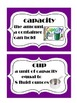 Go Math! Grade 5 Chapter 10 Vocabulary Words