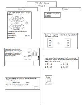 Go Math Grade 5 FSA Review Week 6