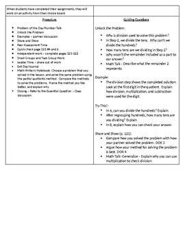 Go Math! Grade 5 Lesson Plan 2.6