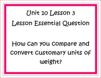 Go Math Grade 5 Unit 10 Essential Questions