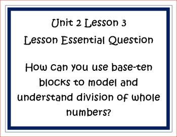 Go Math Grade 5 Unit 2 Essential Questions