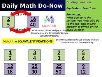 Go Math Grade 5 Unit 6-1, 6-2, & 6-4