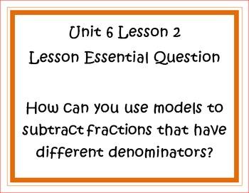 Go Math Grade 5 Unit 6 Essential Questions